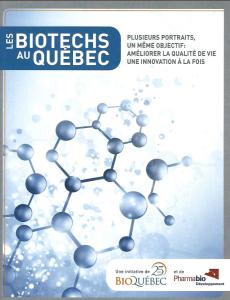 Retombées éconimiques de la biotechnologie au Québec